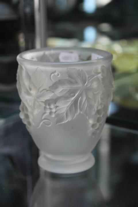 Etling Glass Vase