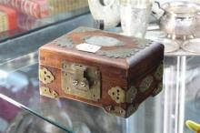 Chinese Jewellery Box & Embossed Pipe