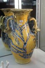 Goat Head Vase