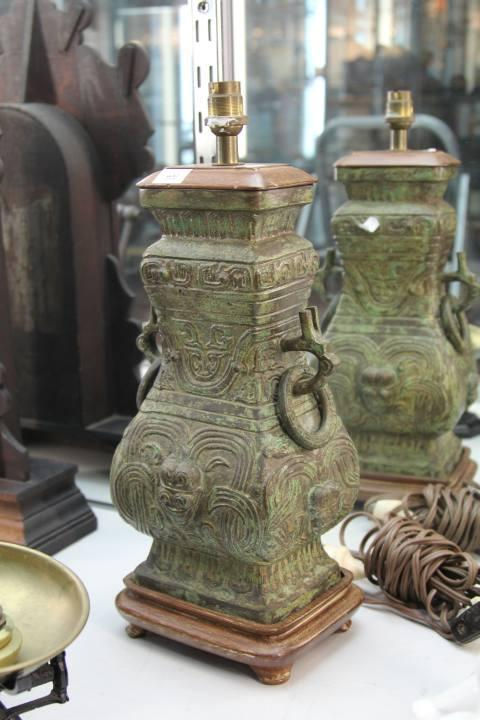 Archaic Style Lamp