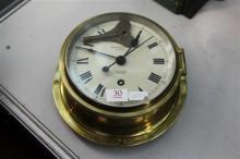 Prouds Sydney Sestrel Porthole Clock