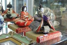 Early Japanese Emperor & Empress Dolls