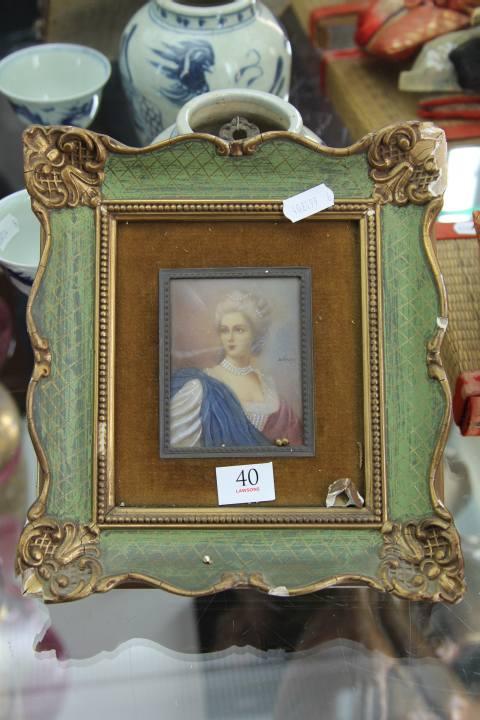 Framed Miniature (AF)