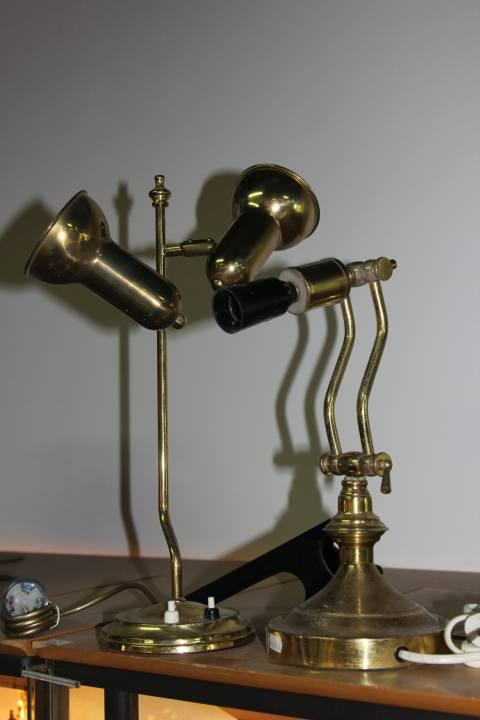 Brass Desk Lamps (2)