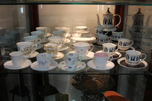 Aynsley Cup Saucers with Others incl. Royal Albert