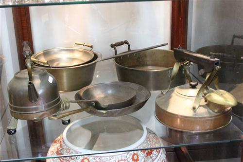 Copper Kitchen Wares incl. Kettles