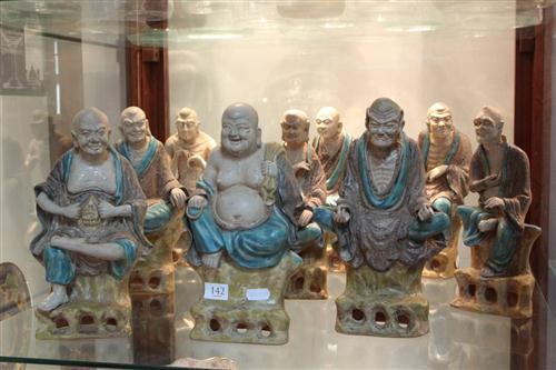 Sancai Asita Immortal Set of 9 Figures