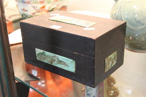 Nephrite Panelled Box