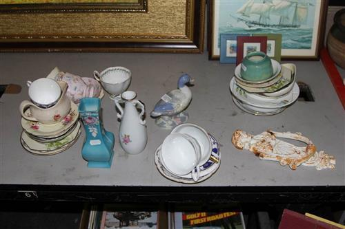 Rosenthal Tea Wares With Other Ceramics incl Shelley Vase