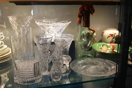 Waterford Crystal Centrepiece with Other Crystal & Glass incl. Flower Vase