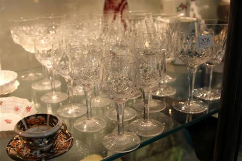 Waterford Crystal Drink Wares with Other Crystal Stem Wares