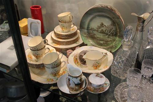 Alfred Meakin 'Marigold' Dinner Wares with Ceramics incl. Royal Doulton
