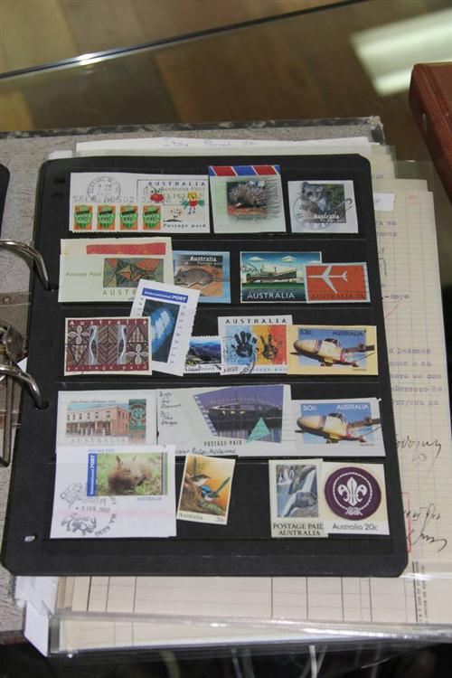 Various World Stamps & Ephemera