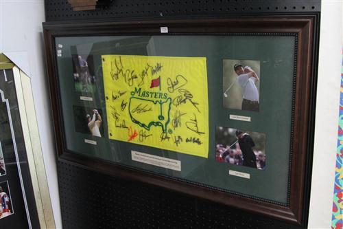 Masters Cap Signed by 18 Golfers