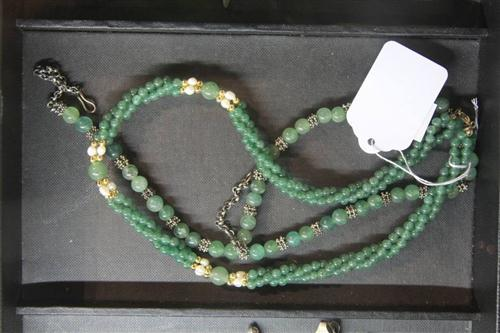 Jade Ladies Necklace & Another
