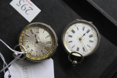 Continental Silver Pocket Watches (2)