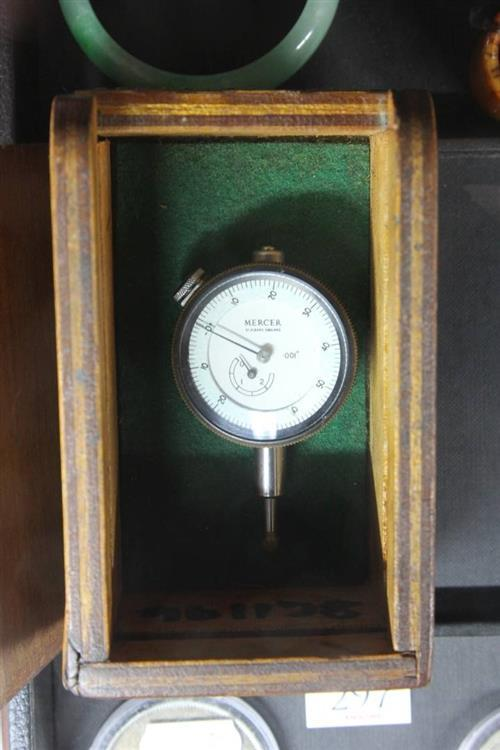 Mercer Dial Indicator in Box