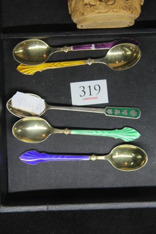 Danish Sterling Silver Spoons