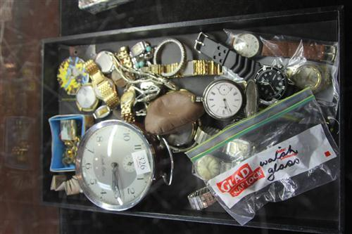 Various Watches & Costume Jewellery