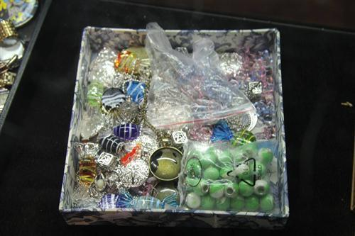 Murano Glass Bon Bons Together With Various Costume Jewellery