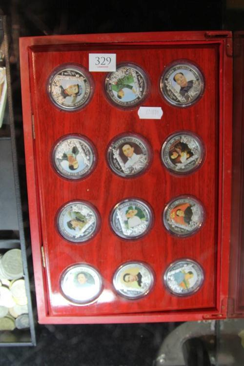 Chinese Chairman Mao Coins