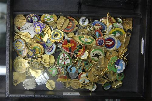 Vintage Bowling Club Badges & Others