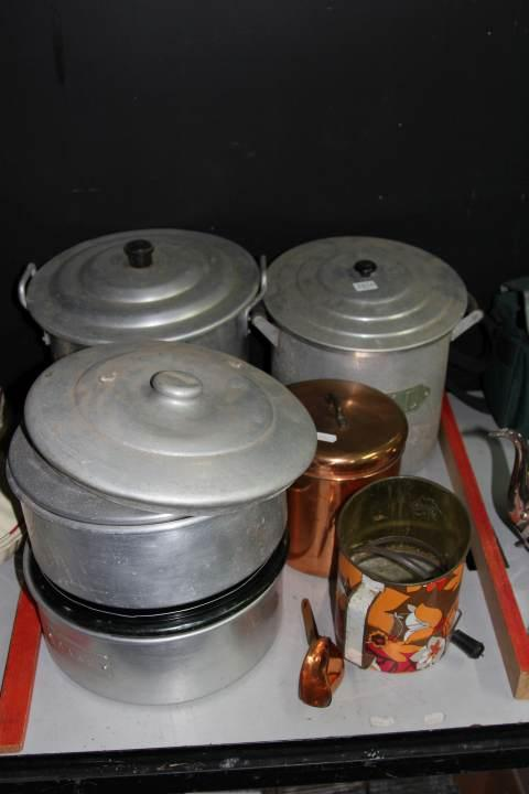 Copper Kitchen Canisters with Aluminium Examples