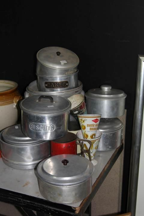 Aluminium Kitchen Cannisters