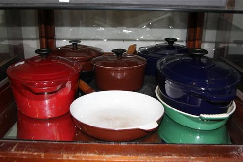 Chasseur Casserole Dish with Other Cast Iron Cook Wares
