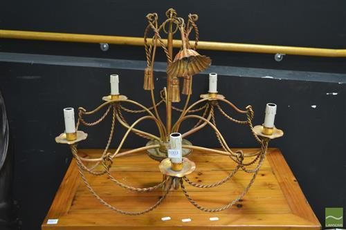 Five Branch Chandelier