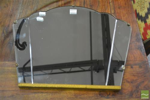 Small Art Deco Mirror