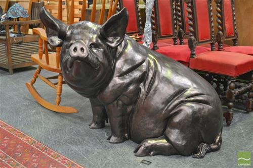 Composite Figure of a Pig