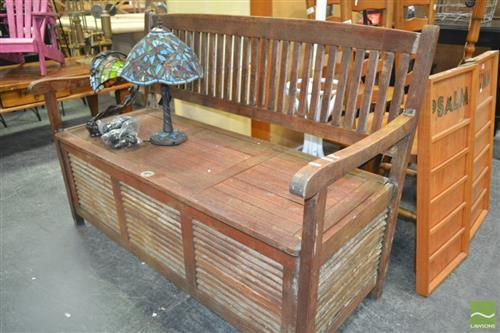 Timber Lift Top Bench Seat