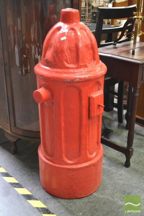Faux American Fire Hydrant