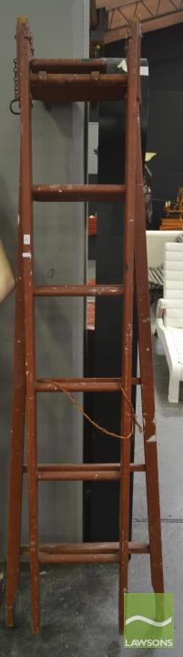Tall Timber A-Frame Ladder