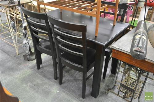 Five Piece Dining Suite incl. Table and Four Chairs