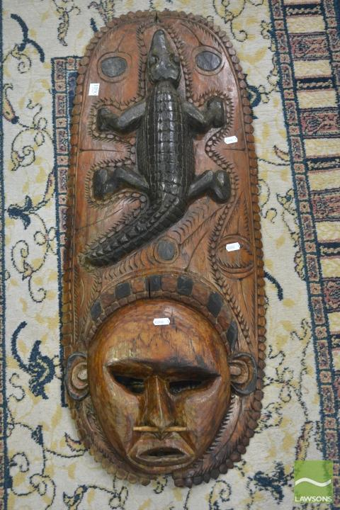 Carved Tribal Mask