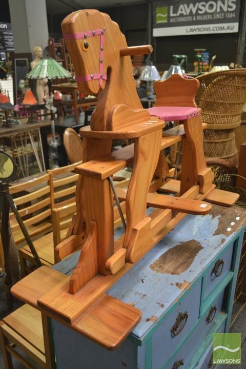Timber Rocking Horse