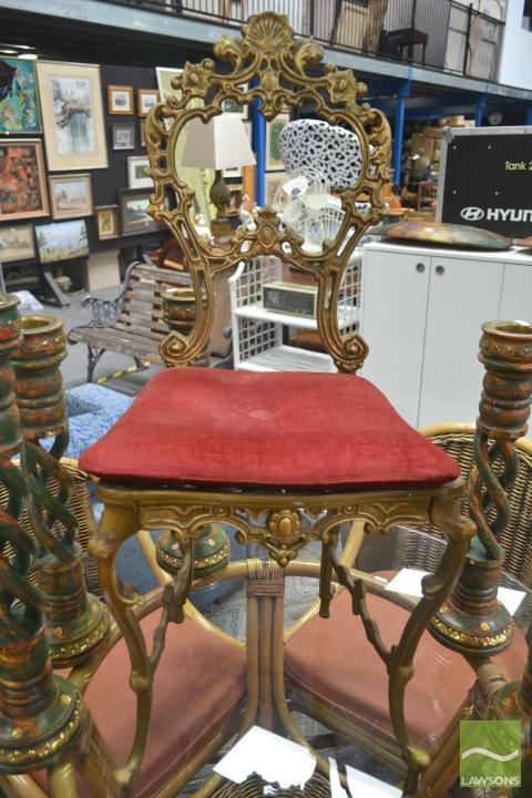 Wrought Iron Bedroom Chair