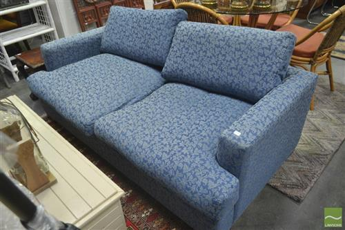 Warwick Two Seater Lounge in Blue