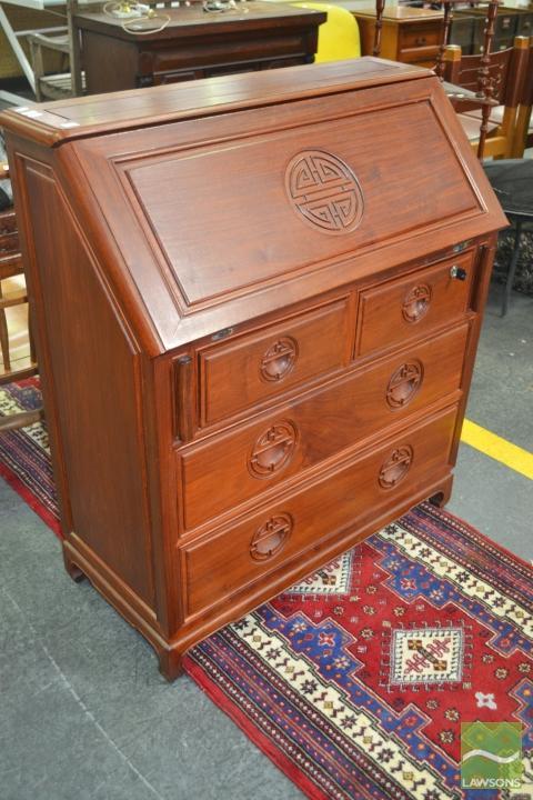 Oriental Rosewood Bureau