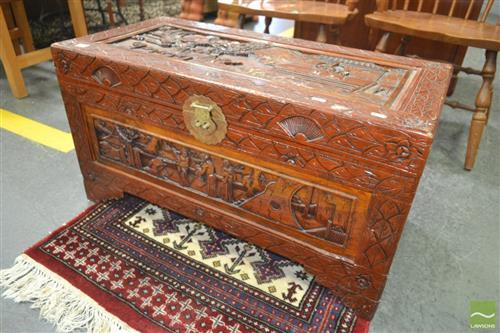 Chinese Camphorwood Trunk