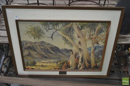 Early Namatjira Print