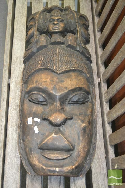 African Timber Facial Mask