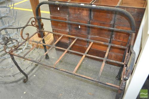 Iron Bench Seat