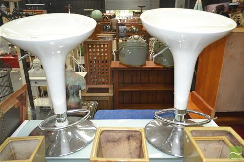 Pair of Modern Barstools