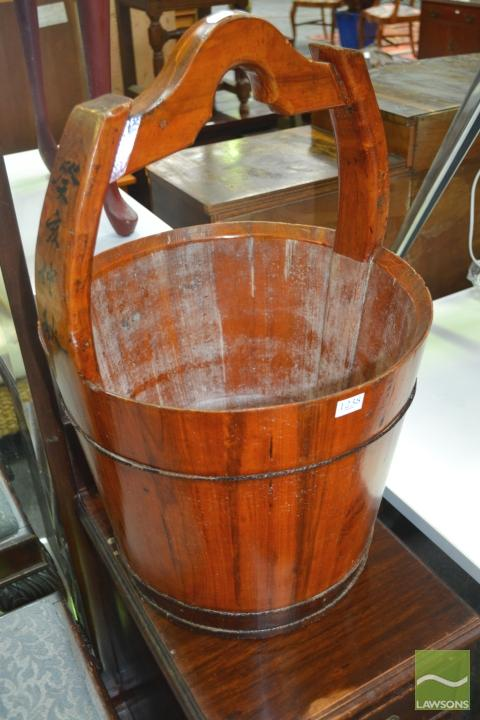 Chinese Ornamental Bucket
