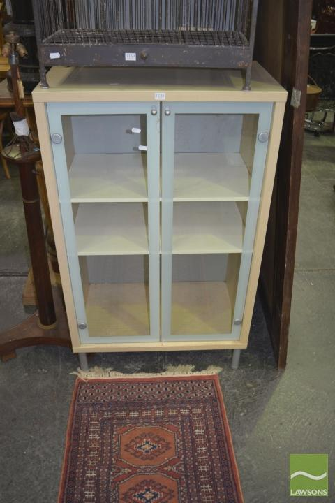 Cabinet with Two Glass Doors