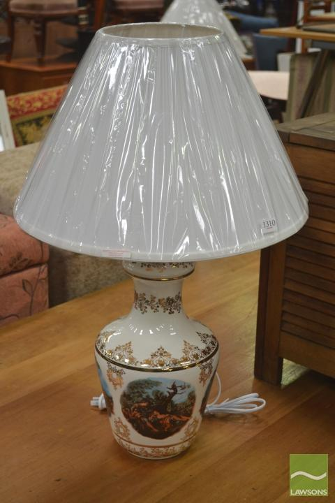 Pair of Italian Ceramic Table Lamps (2856)