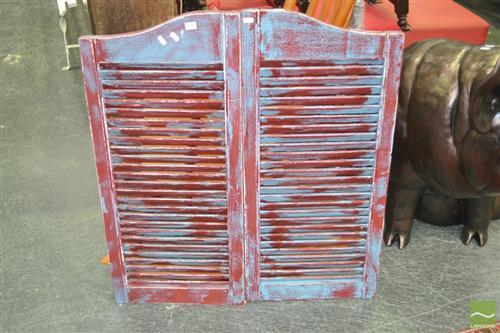 Pair of Saloon Door Shutters